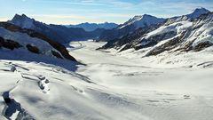 Der Hinweis auf dramatischen Gletscherschwund war mir ein guter Grund...