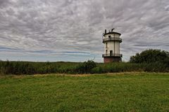 Der historische Leuchtturm Balje
