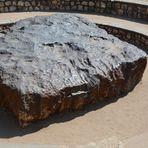 Der Hoba-Meteorit, der größte bisher auf der Erde entdeckte Meteorit