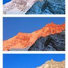 Der höchste Berg der Schweiz (Dom: 4545m)