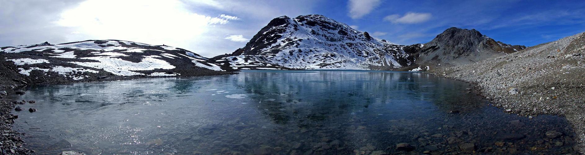 Der höchstgelegene See von GR...