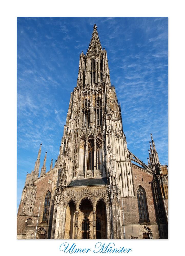 Der höhste Kirchturm der Welt