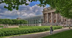 Der Hofgarten am Odeonsplatz - München -