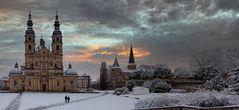 der Hohe Dom  und die Michaelskirche in Fulda