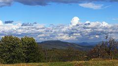 Der Hohe Schneeberg mit schönem Wolkenschmuck...