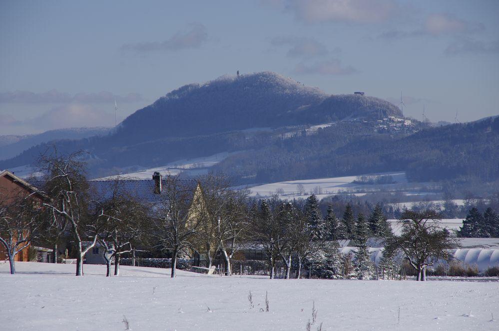 Der Hohe Staufen im Winter