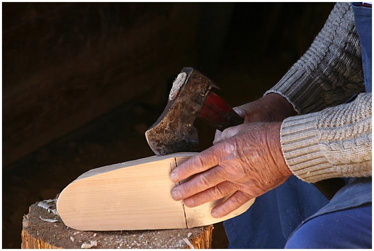 Der Holzschuhmacher