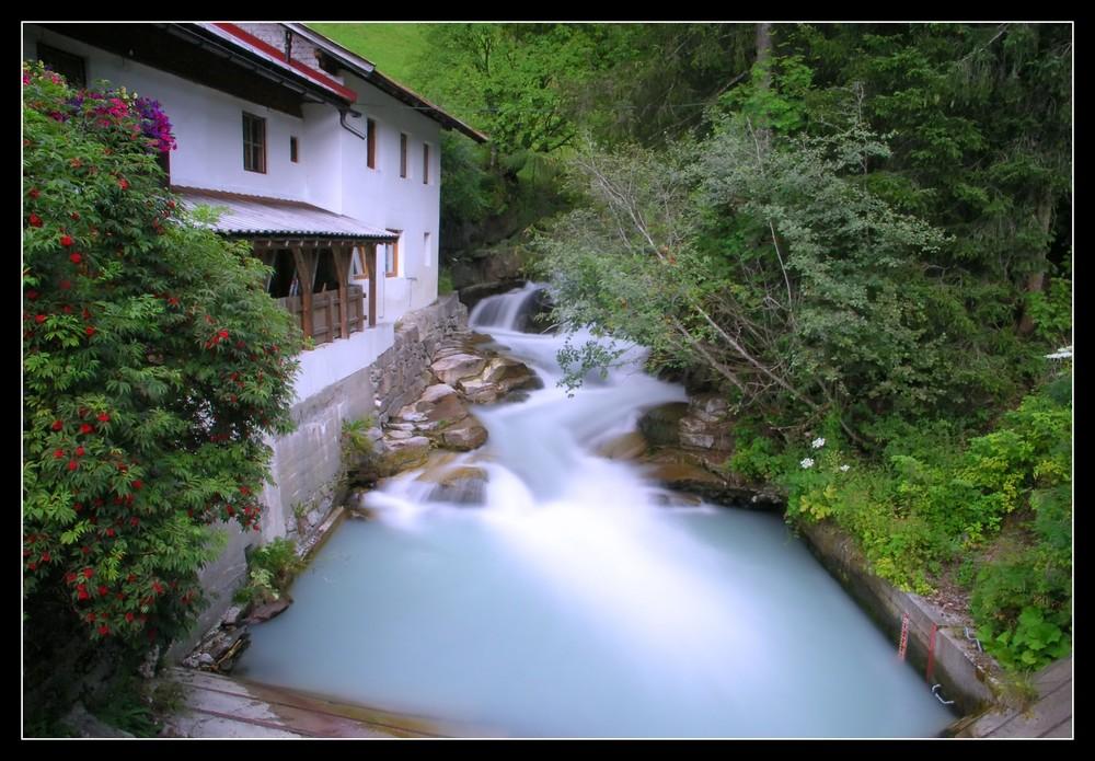 der Horlachbach bei Niederthai