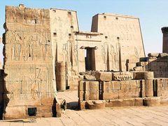 Der Horus Tempel in Edfu (1)