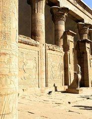 Der Horus - Tempel in Edfu (2)
