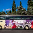 Der hübsche Bus in Lissabon