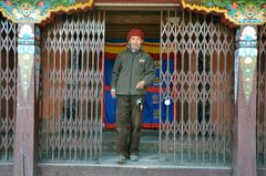 Der Hüter des Klosters von Khumjung