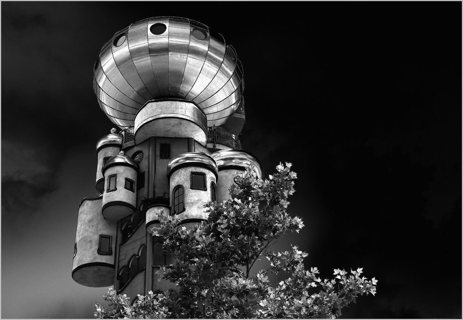 der hundertwasser-Turm zu abendsberg...