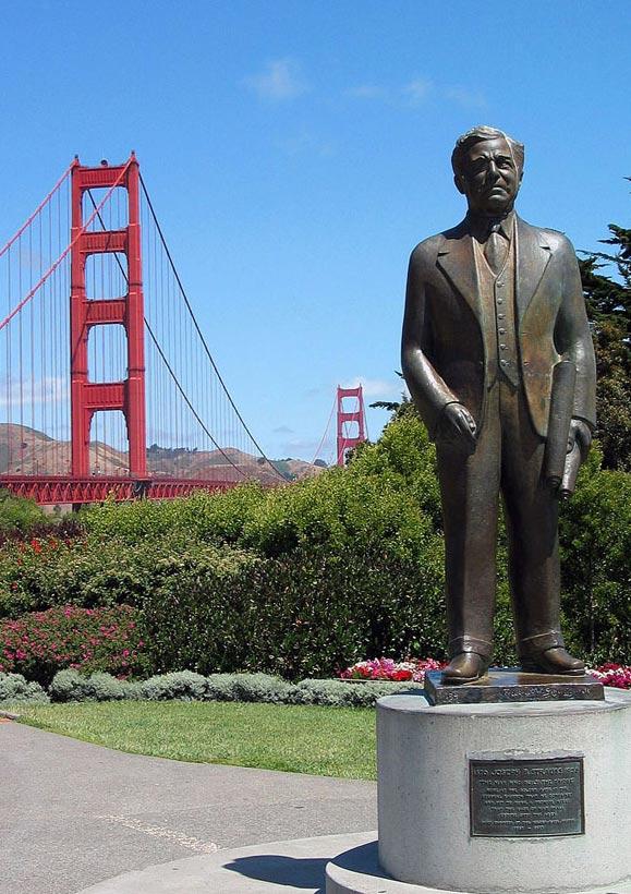 Der Ingenieur mit seiner Brücke