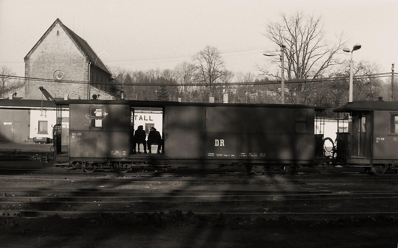Der Job bei der Reichsbahn ...