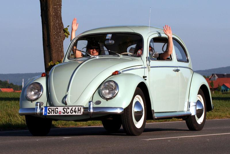 Der Käfer und er rollt und rollt und rollt......