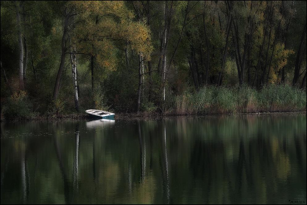 Der Kahn am Ufer...