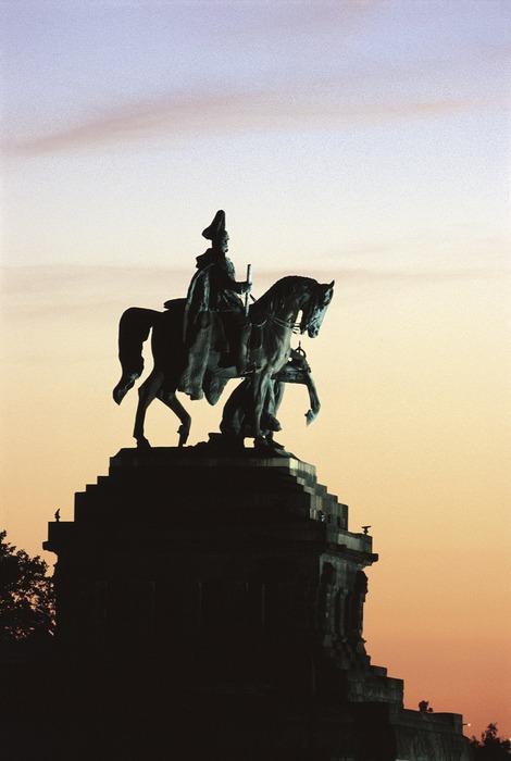 """Der """"Kaiser"""" am Deutschen Eck"""
