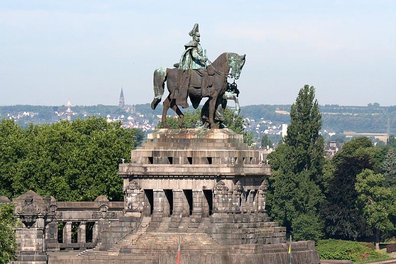 Der Kaiser auf dem Deutschen Eck