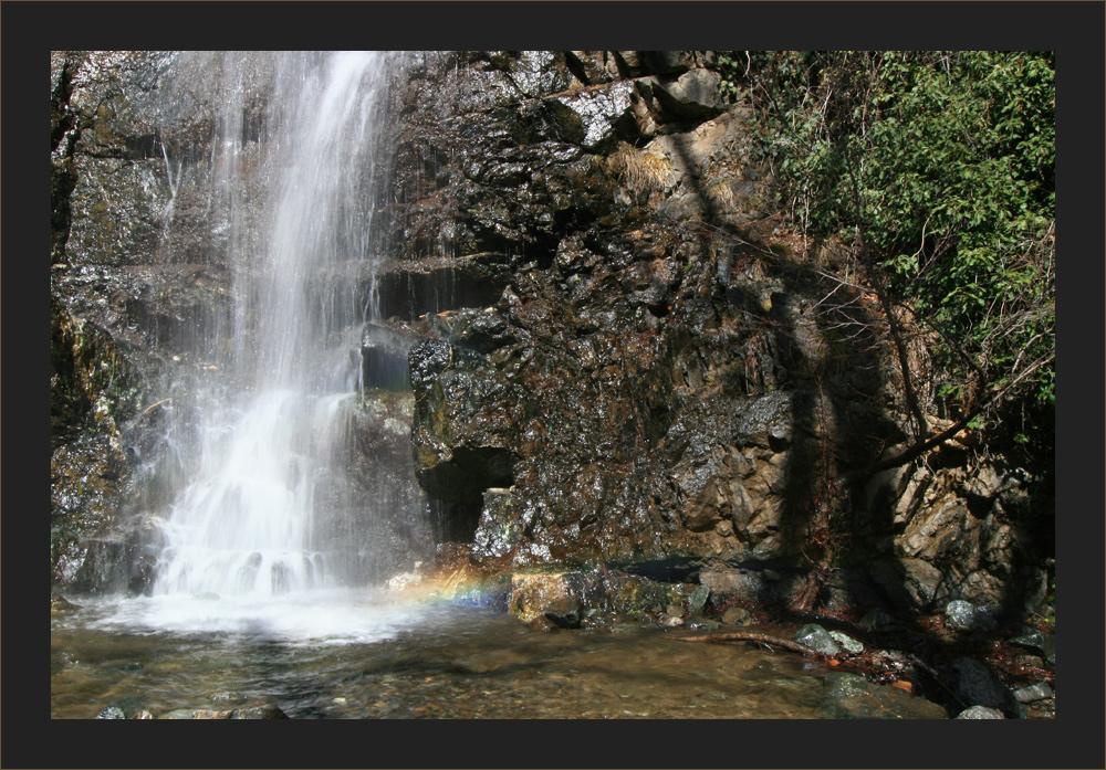 der Kaledonische Wasserfall