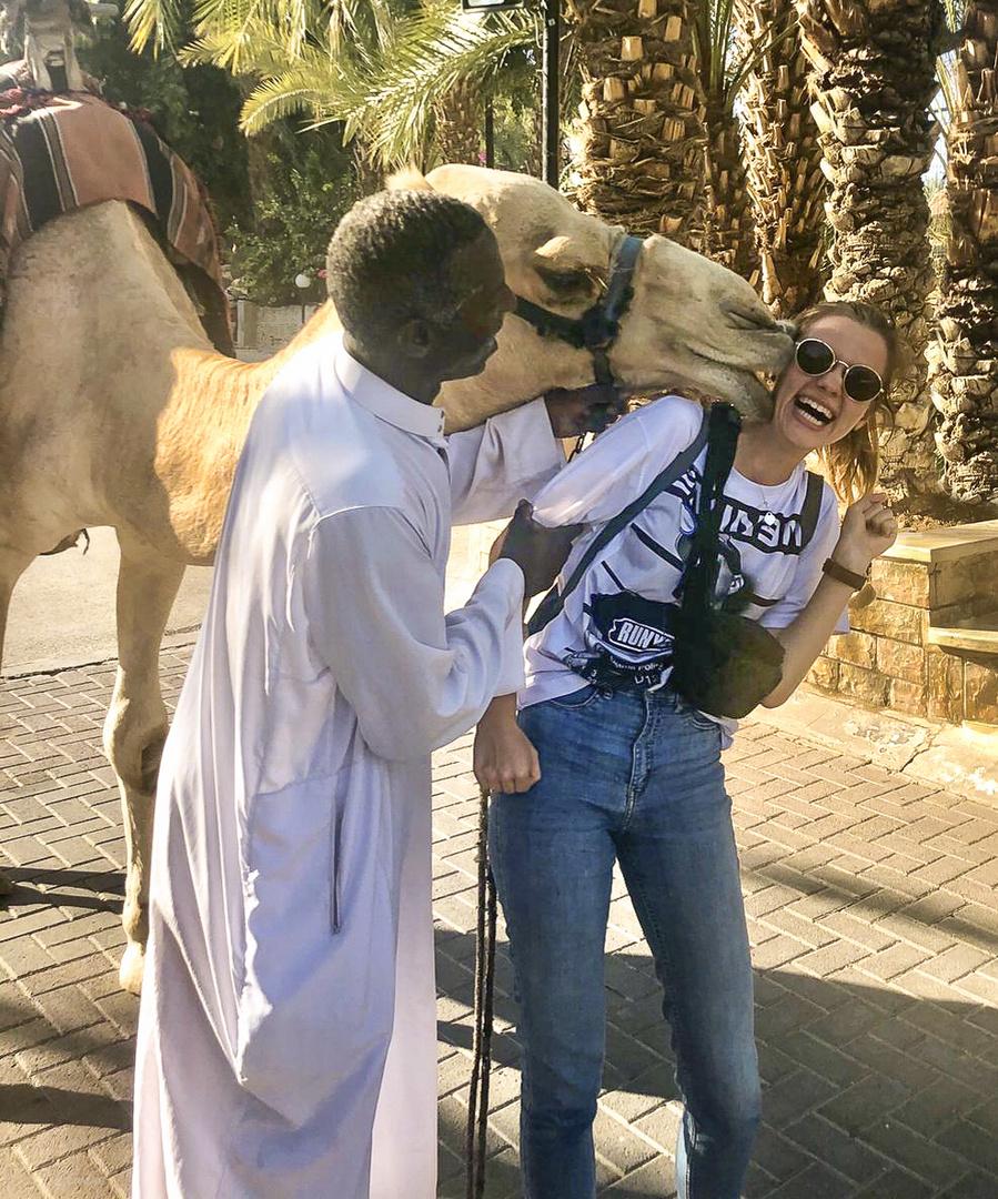 Der Kamelkuss