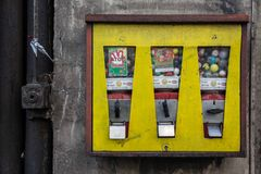 der Kaugummiautomat...