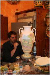 Der Keramikmaler