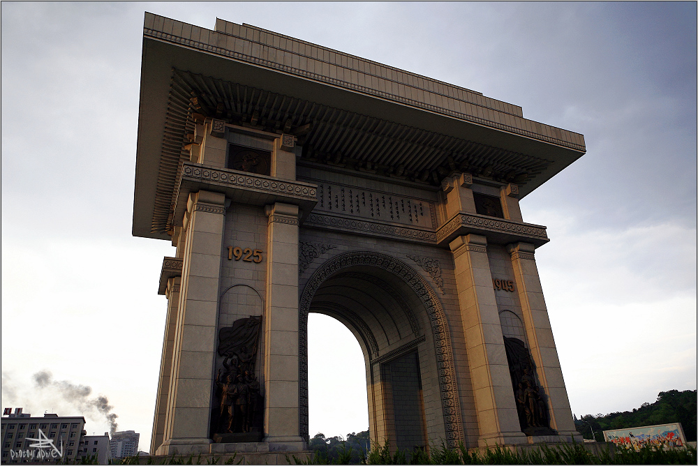 """"""" Der Kim Il-Sung Triumphbogen """""""