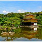 """Der Kinkakuji in Kyoto - """"Goldener Pavillon"""""""