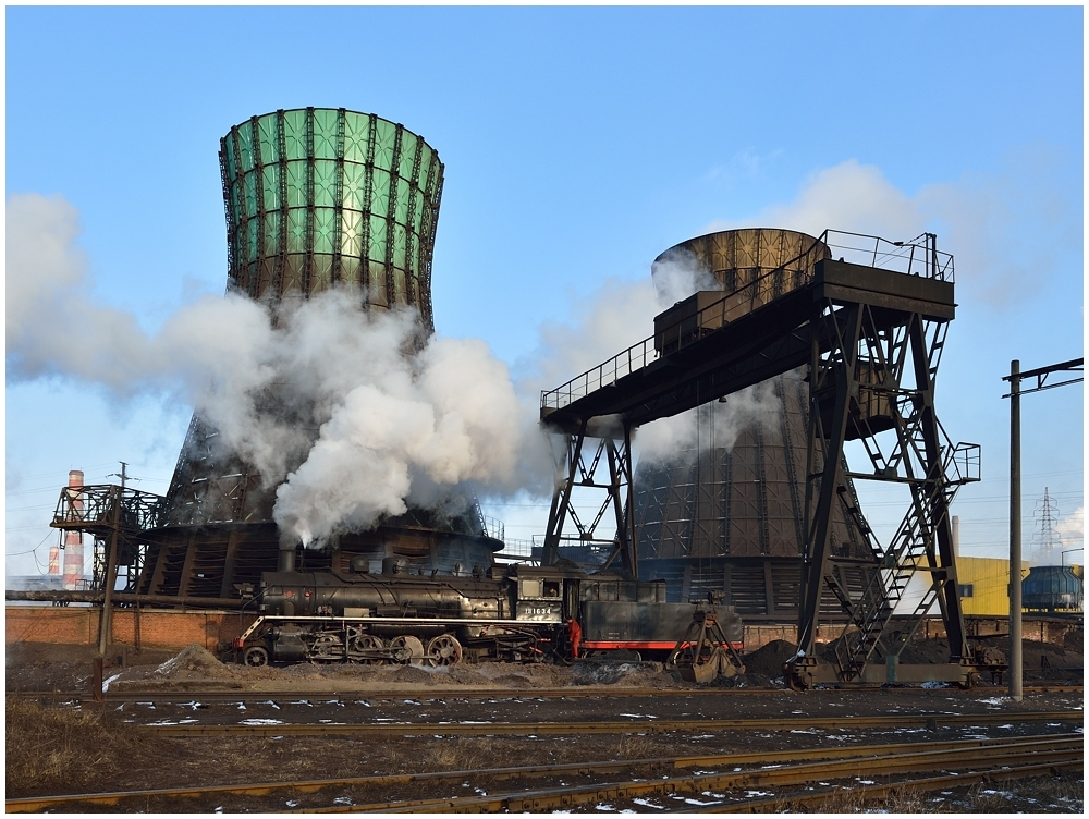 Der Klassiker im Stahlwerk Fushun