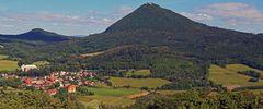 Der Klassiker vom Gipfel des Berges Ostry im Böhmischen Mittelgebirge...