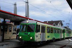 der ' kleine, grüne Zug' ..