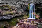 Der kleine Wasserfall...