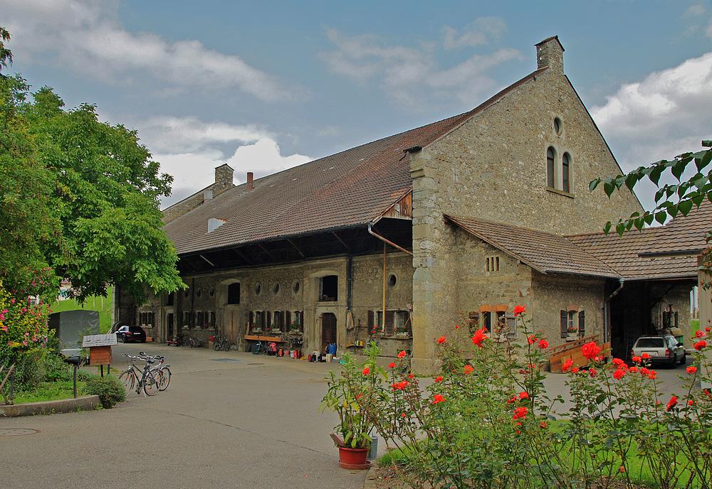 ..der Klosterhof..