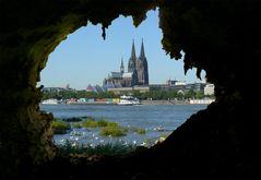 Der Kölner Dom - mal aus einer anderen Perspektive