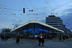 Der Königsplatz in Augsburg