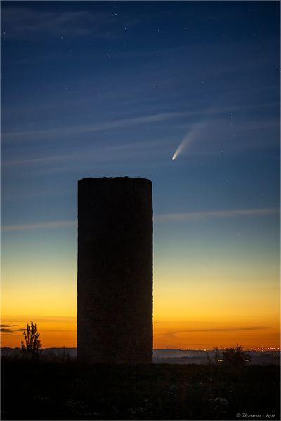 Der Komet Neowise...
