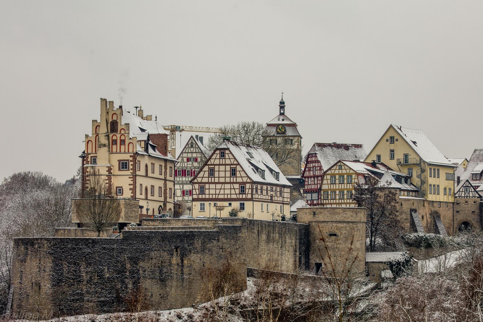 Der Kran und das Mittelalter…