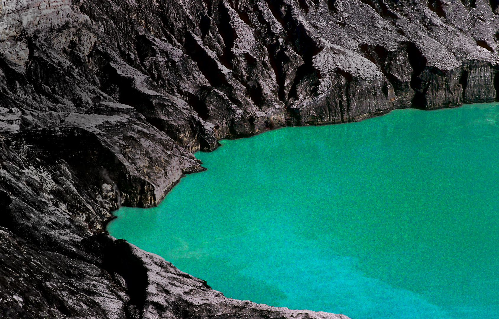 Der Kratersee, Vulkan Poas