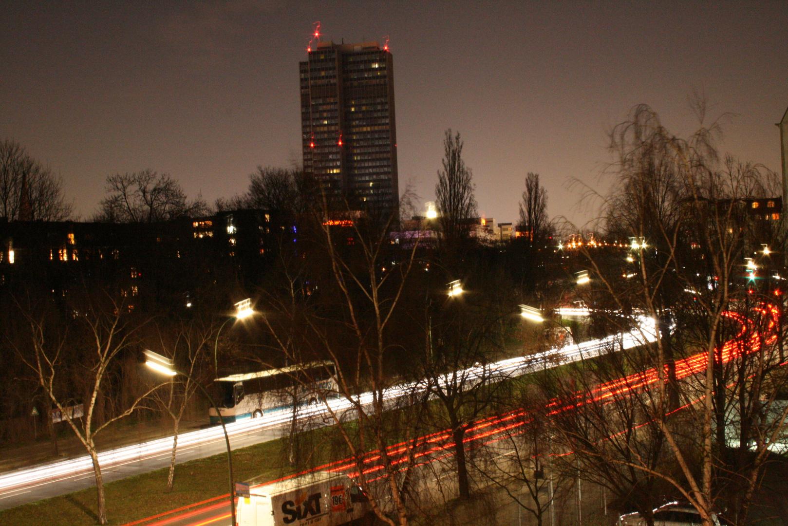 Der Kreisel bei Nacht