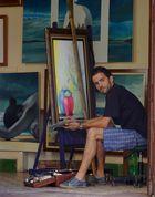 ..der Künstler..
