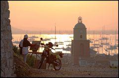 Der Künstler über St. Tropez