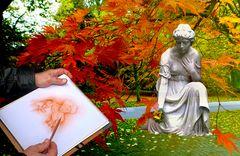 Der Künstler und seine Muse