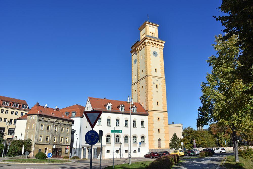Der Kunstturm in Altenburg
