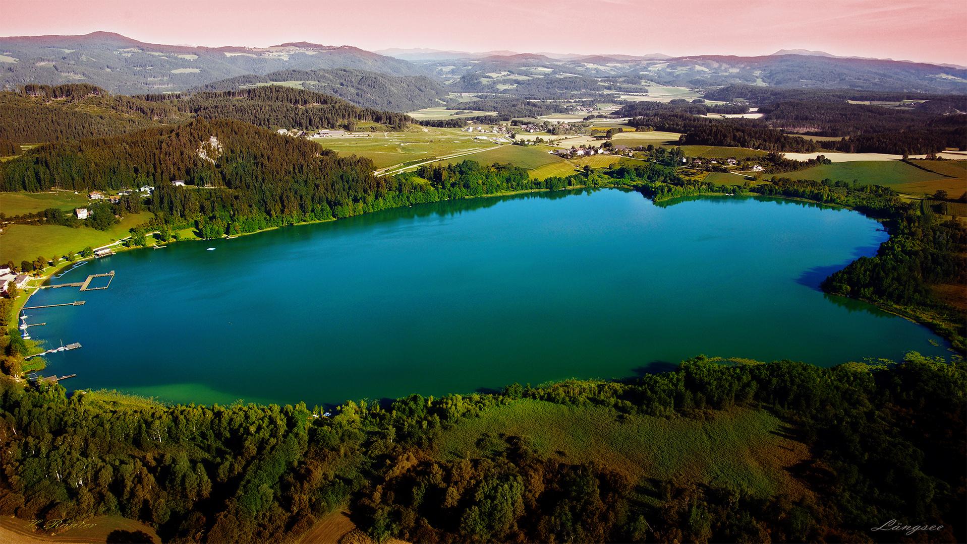 Der Längsee in Kärnten