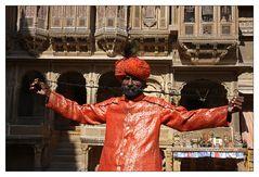 Der längste Bart Rajasthans?