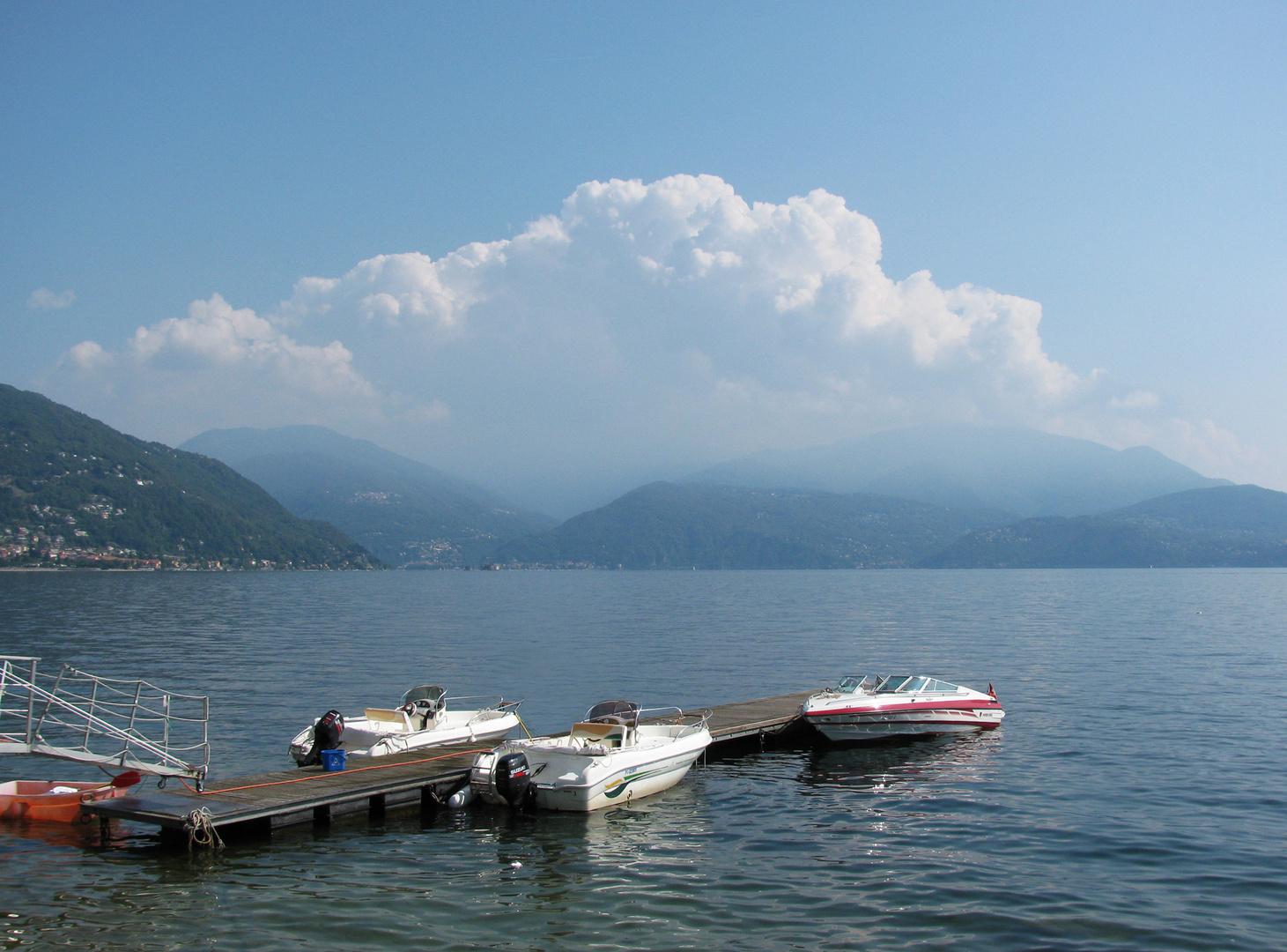 Der Lago bei Oggebbio