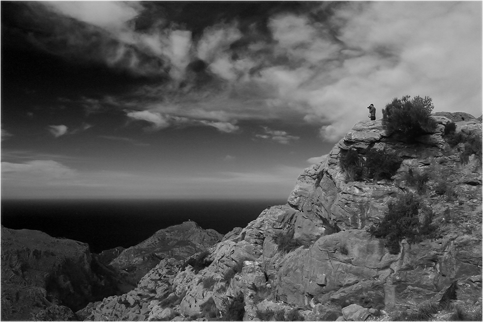 Der Landschaftsfotograf sw