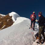 Der lange Weg zur Wildspitze