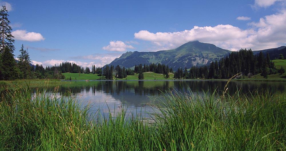 Der Lauenensee...